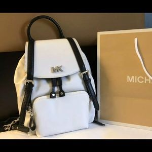 $258 Michael Kors Beacon Backpack Handbag MK Bag